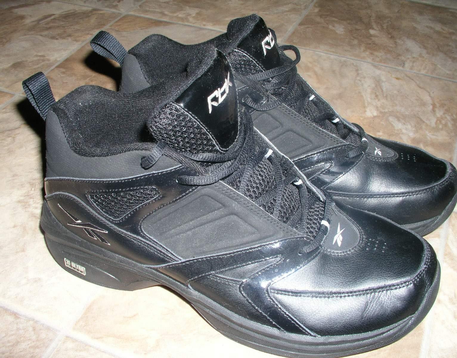 reebok black 10 5 4e wide xwide eeee mens shoes basketball
